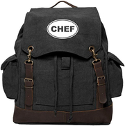 Chefs Leather Backpack