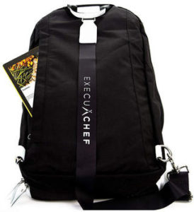 ExecuChef Knife Roll Bag For Culinary Students & Professional Chefs