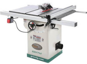 Grizzly best hybrid table saw under 1500