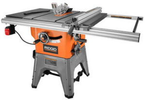 Ridgid best hybrid table saw under 1000